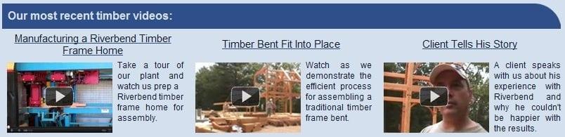 Timber Frame Videos