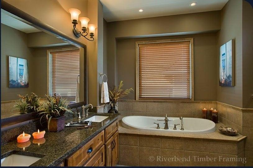 Timber Mountain Bath Concept