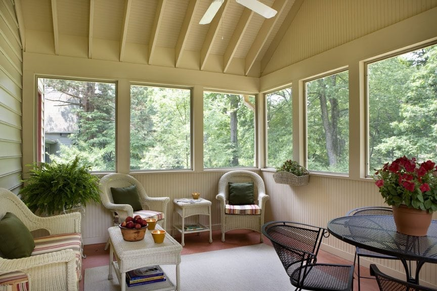Timber Sunroom