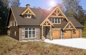 Georgia Timber Frame Home