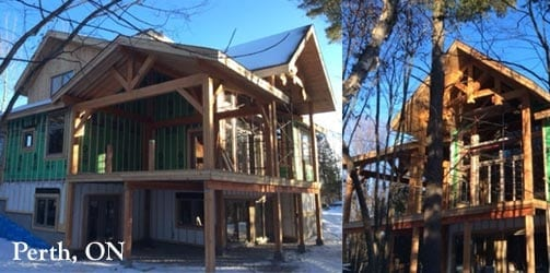 Ontario Timber Frame Homes | Riverbend Timber Framing