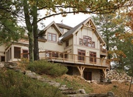 Timber Home Exterior View