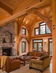 Custom Timber Great Room