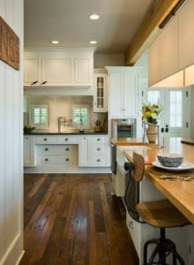 Custom Timber Home Kitchen