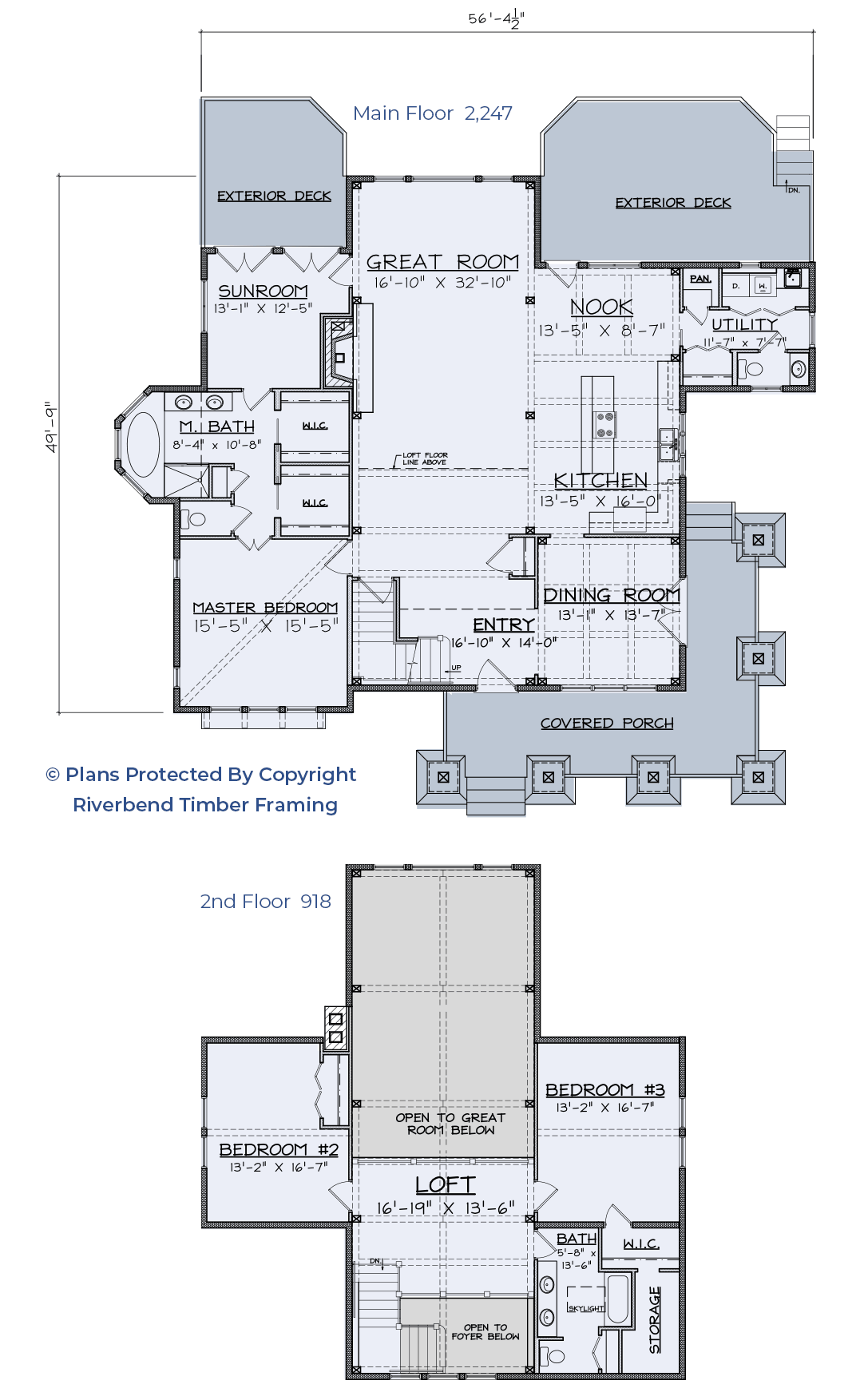 Craftsman floor plan