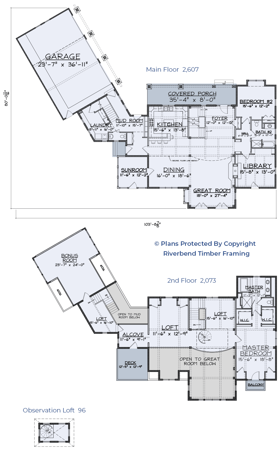 traditional timber home floor plan